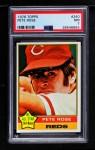 1976 Topps #240  Pete Rose  Front Thumbnail