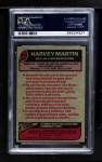 1977 Topps #427  Harvey Martin  Back Thumbnail