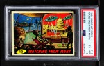 1962 Topps / Bubbles Inc Mars Attacks #13   Watching from Mars Front Thumbnail