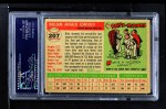 1955 Topps #207  Billy Consolo  Back Thumbnail