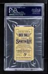 1910 M116 Sporting Life PAS Harry Davis   Back Thumbnail