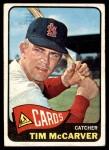 1965 Topps #294  Tim McCarver  Front Thumbnail