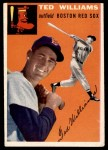 1954 Topps #1 WHT Ted Williams  Front Thumbnail