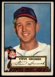 1952 Topps #258  Steve Gromek  Front Thumbnail