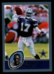 2003 Topps #111  Quincy Carter  Front Thumbnail