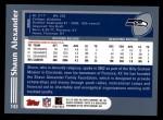 2003 Topps #143  Shaun Alexander  Back Thumbnail