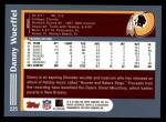 2003 Topps #225  Danny Wuerffel  Back Thumbnail
