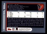 2003 Topps #277  Billy Miller  Back Thumbnail
