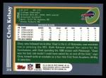 2003 Topps #316  Chris Kelsay  Back Thumbnail