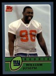 2003 Topps #321  William Joseph  Front Thumbnail