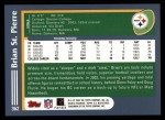 2003 Topps #362  Brian St.Pierre  Back Thumbnail