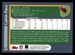 2003 Topps #364  Calvin Pace  Back Thumbnail