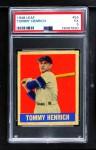1948 Leaf #55  Tommy Henrich  Front Thumbnail