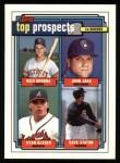 1992 Topps #126  Ryan Klesko  Front Thumbnail