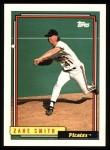 1992 Topps #345  Zane Smith  Front Thumbnail