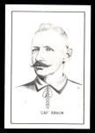 1950 Callahan Hall of Fame  Cap Anson  Front Thumbnail