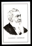 1950 Callahan Hall of Fame  Alexander Cartwright  Front Thumbnail