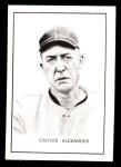 1950 Callahan Hall of Fame  Grover Alexander  Front Thumbnail