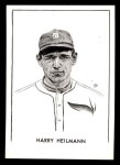 1950 Callahan Hall of Fame B Harry Heilmann  Front Thumbnail