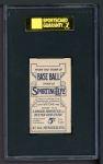 1910 M116 Sporting Life  Al Bridwell  Back Thumbnail