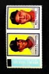 1962 Topps Stamp Panels  Camilo Pascual / Bill Virdon  Front Thumbnail