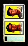 1962 Topps Stamp Panels  Wally Moon / Brooks Robinson  Front Thumbnail