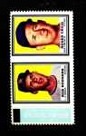 1962 Topps Stamp Panels  Bob Rodgers / Roger Craig  Front Thumbnail