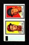 1962 Topps Stamp Panels  Don Demeter / Lee Walls  Front Thumbnail