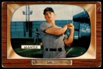 1955 Bowman #202  Mickey Mantle  Front Thumbnail