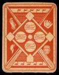 1951 Topps Red Back #15  Ralph Kiner  Back Thumbnail