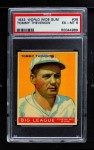 1933 World Wide Gum #36  Tommy Thevenow    Front Thumbnail
