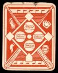 1951 Topps Red Back #46  Billy Goodman  Back Thumbnail