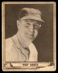 1940 Play Ball #45  Red Kress  Front Thumbnail