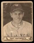 1940 Play Ball #155  Ray Hayworth  Front Thumbnail