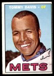 1967 Topps #370  Tommy Davis  Front Thumbnail