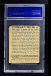 1935 National Chicle #12  Tom Hupke   Back Thumbnail