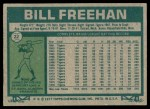 1977 Topps #22  Bill Freehan  Back Thumbnail
