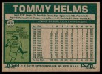 1977 Topps #402  Tommy Helms  Back Thumbnail