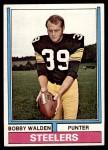 1974 Topps #324  Bobby Walden  Front Thumbnail