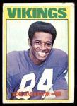 1972 Topps #218  Gene Washington  Front Thumbnail