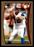 1998 Topps #14  Kerry Collins  Front Thumbnail