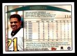 1998 Topps #114  Eric Allen  Back Thumbnail