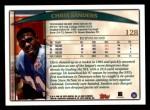 1998 Topps #128  Chris Sanders  Back Thumbnail