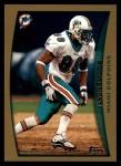 1998 Topps #138  Jason Taylor  Front Thumbnail