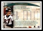 1998 Topps #142  Ed McCaffrey  Back Thumbnail