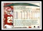 1998 Topps #268  Mark McMillian  Back Thumbnail