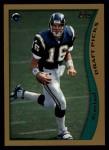 1998 Topps #332  Ryan Leaf  Front Thumbnail