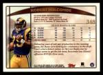 1998 Topps #348  Robert Holcombe  Back Thumbnail