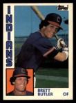 1984 Topps Traded #20  Brett Butler  Front Thumbnail