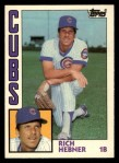 1984 Topps Traded #50  Richie Hebner  Front Thumbnail